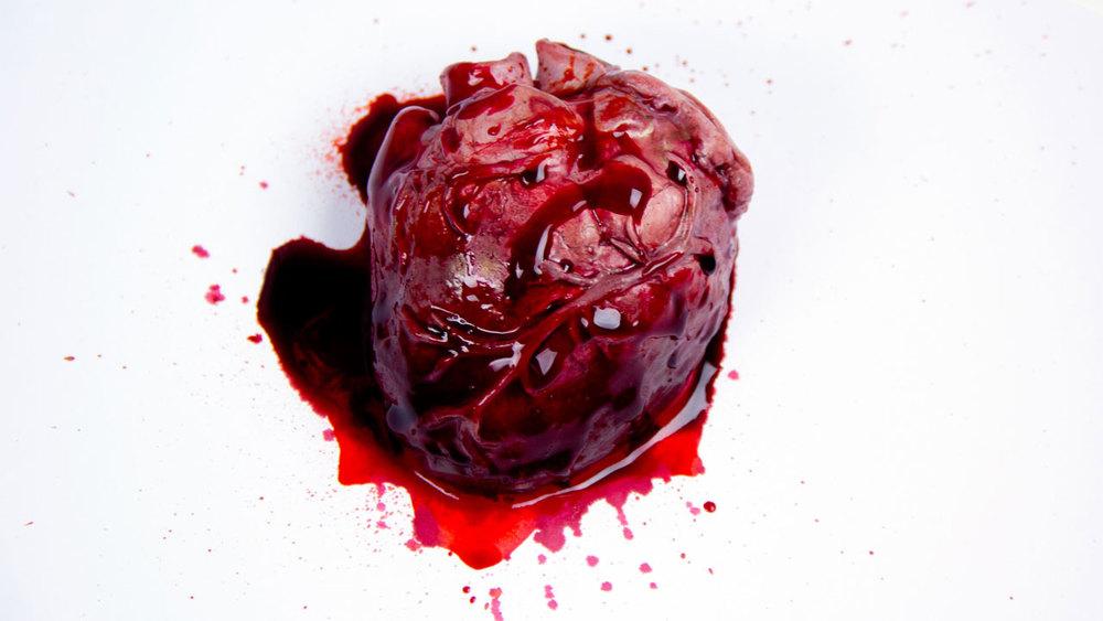 Gelatin Heart Prop