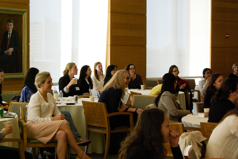 ATTENDEES AT FIRST ANNUAL WOMEN IN BUSINESS ACADEMICA CONFERENCE