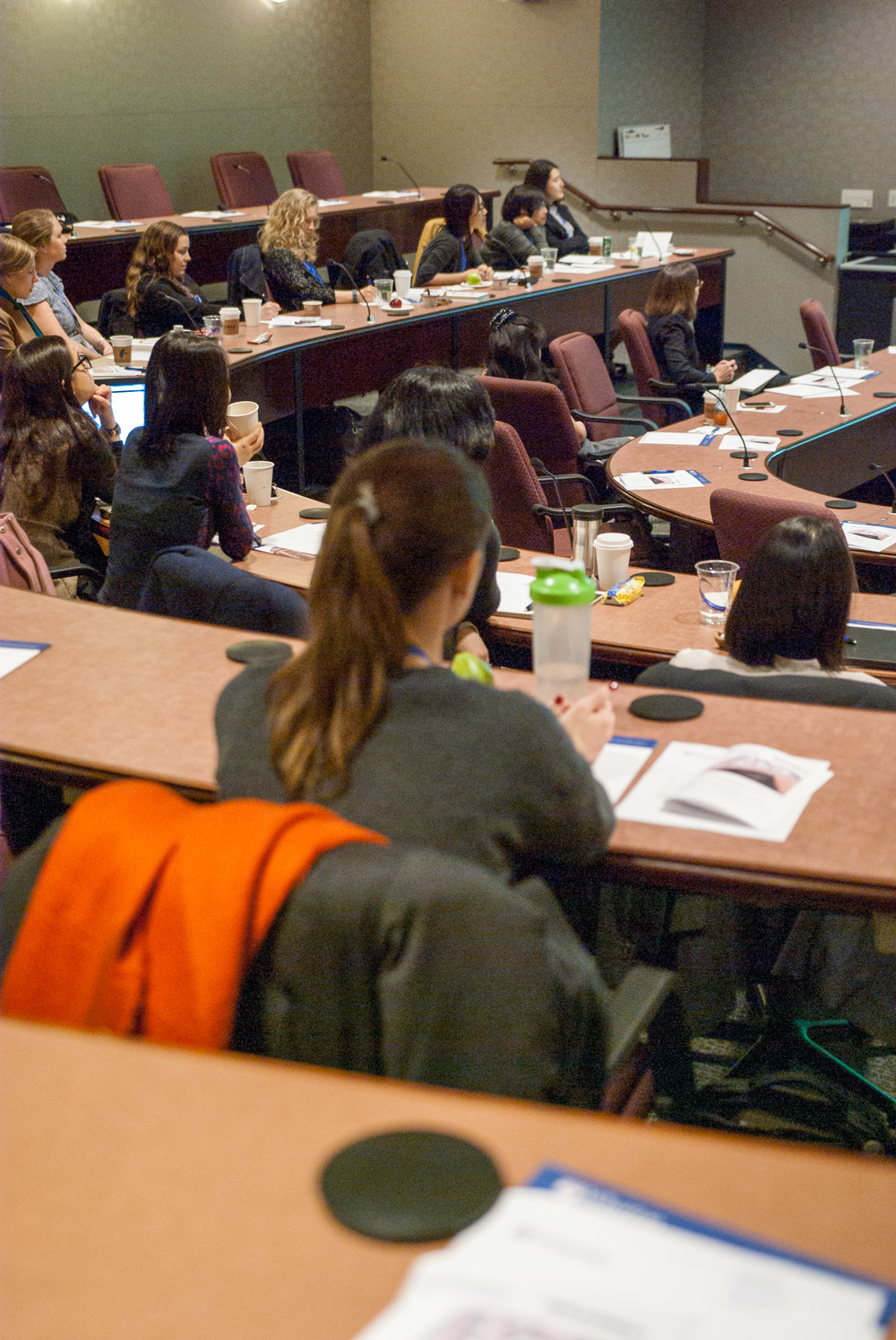 attendees during the keynote presentations