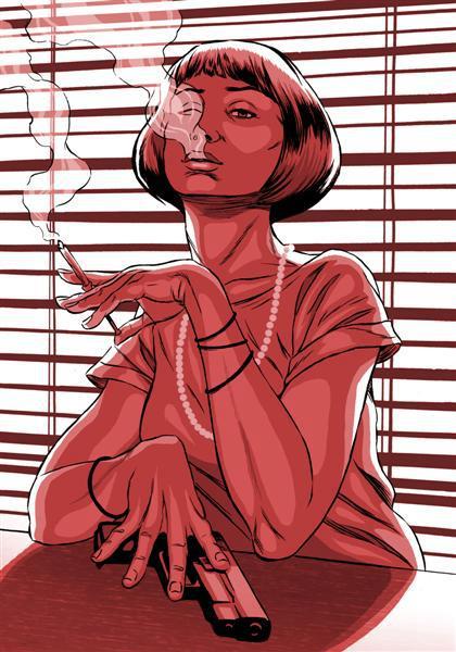 'Red Gurl' By Joel Benjamin