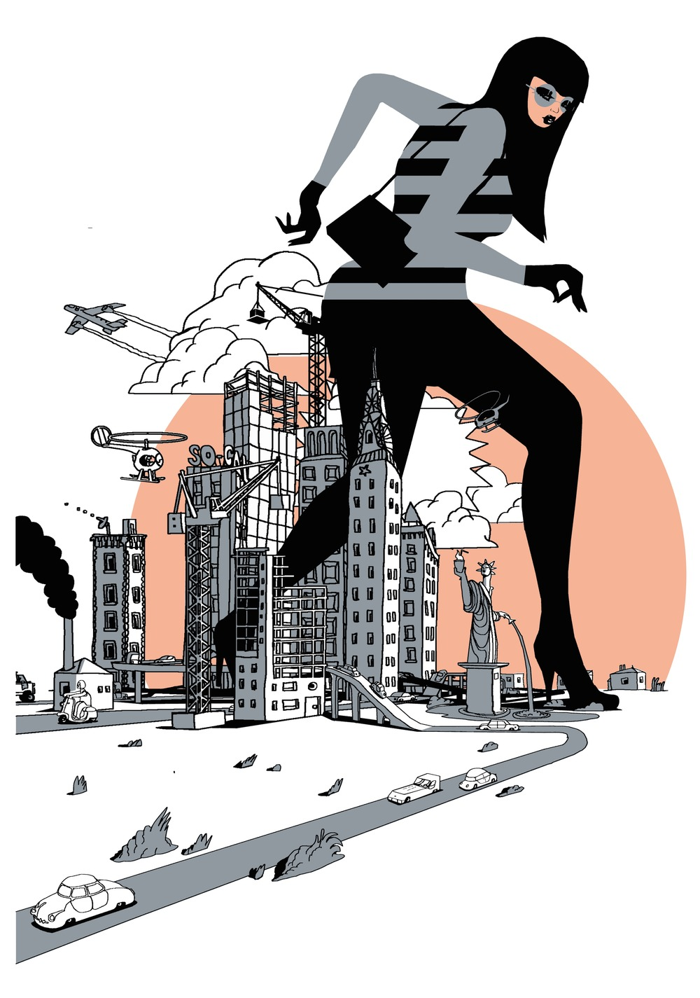 'Big Bird' By Will Barras