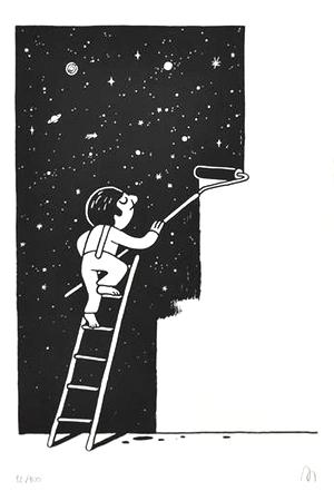 'Space Painter' By Muretz