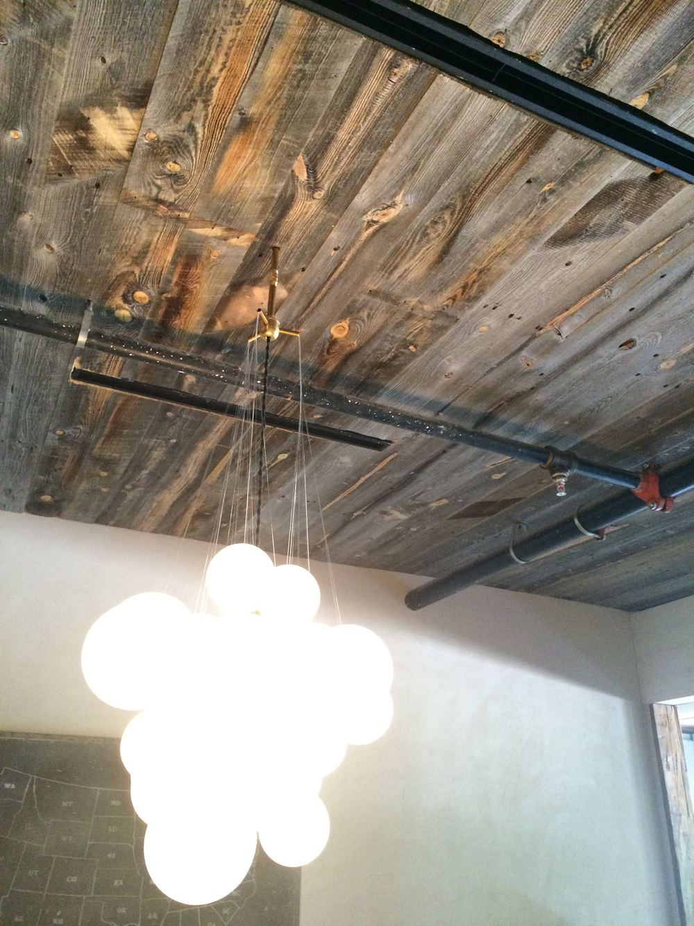 Reclaimed Corral Board Ceiling Paneling