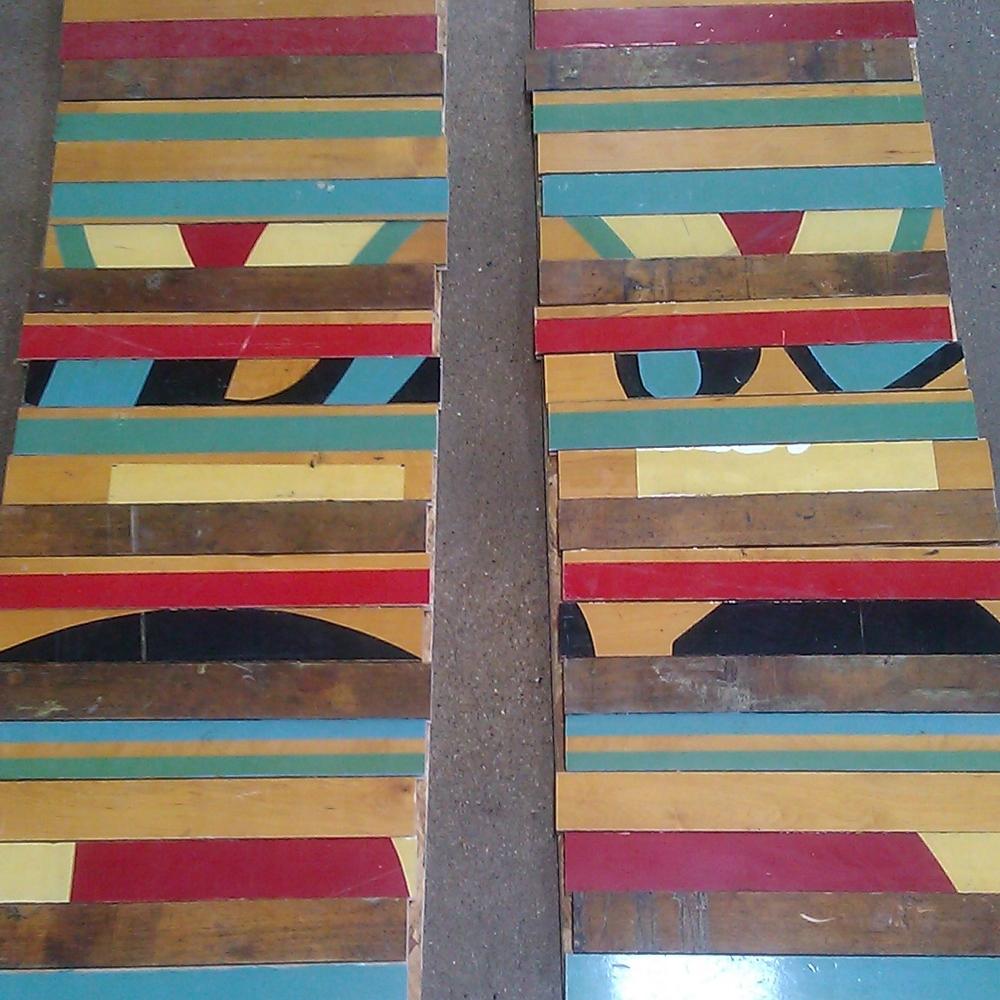Reclaimed Maple Gym Flooring