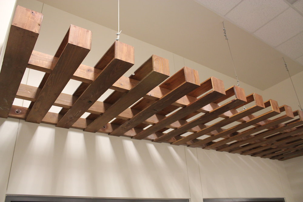 Hanging Pallet Ceiling Element