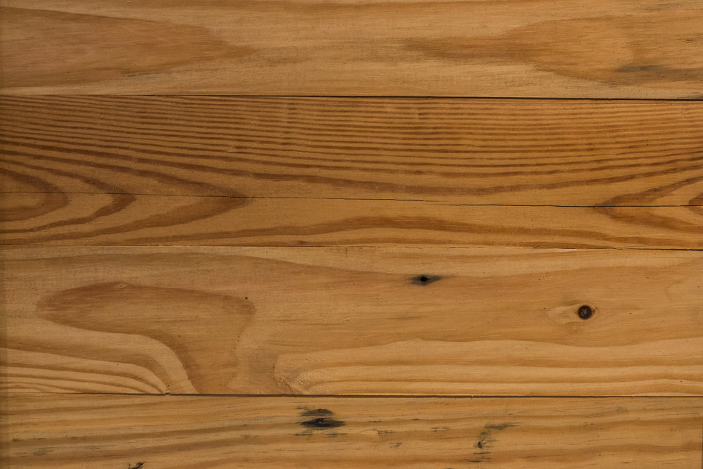 re-milled warehouse pine -
