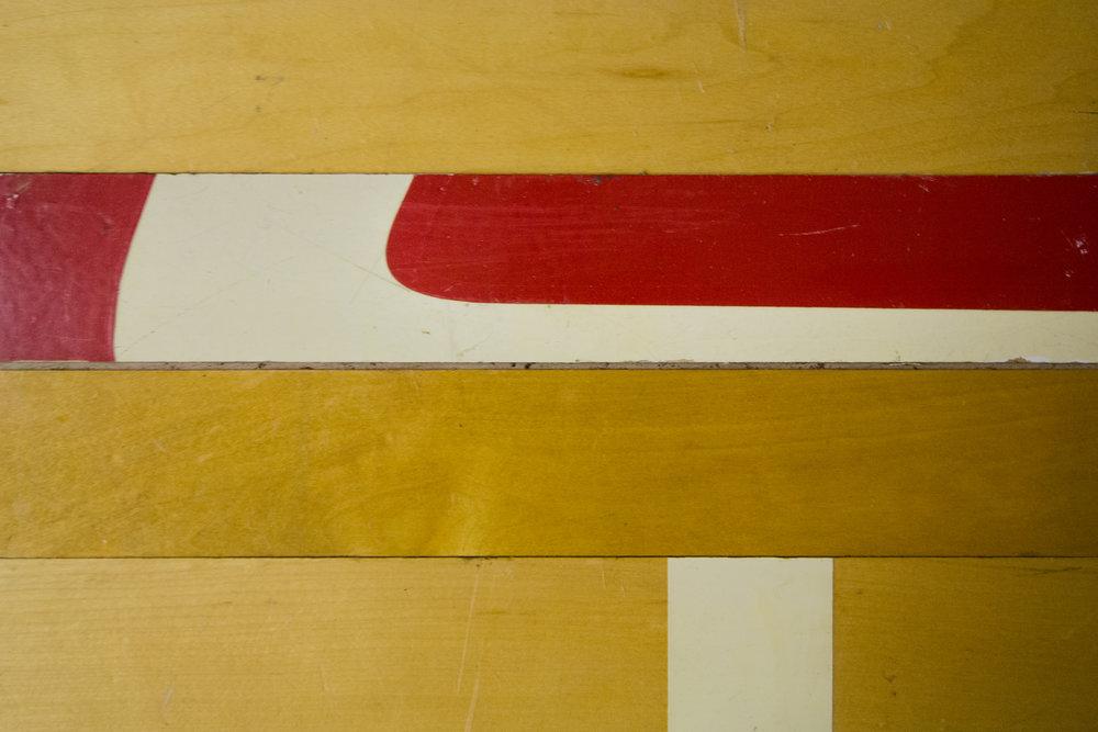 Maple Factory Gym Floor -
