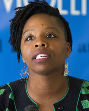 Patrisse Cullors, Organizer/Co-Founder, Black Lives Matter