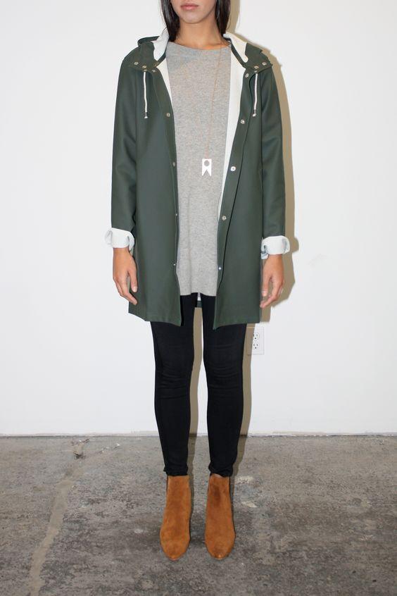 Paula: Rain Coat