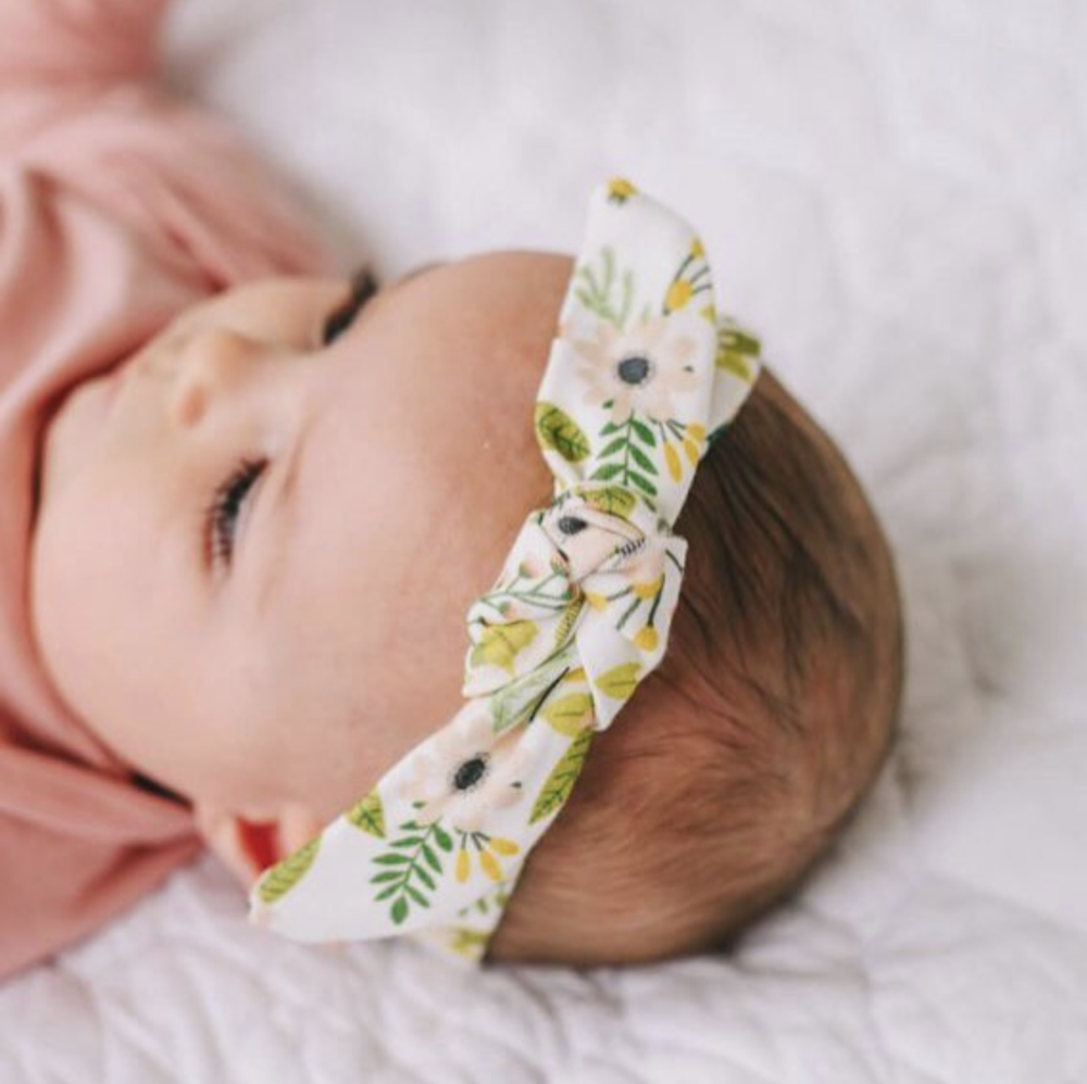 Bloom Organic Knotted Headband, $14
