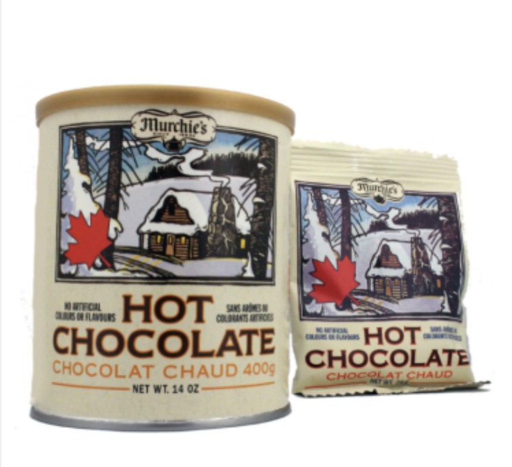Murchie's Hot Chocolate, $7.95/tin