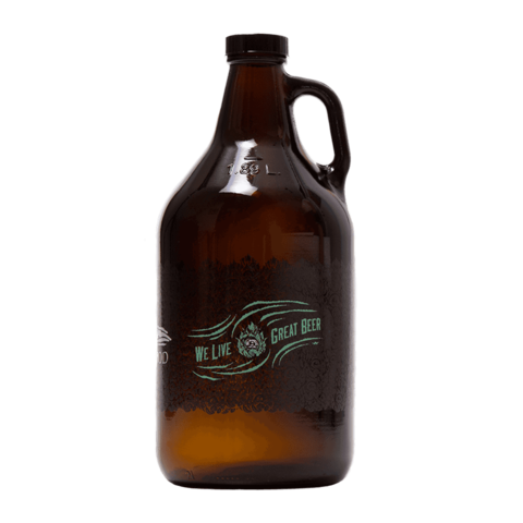 Driftwood Brewery Growlers, $19 for growler with beer