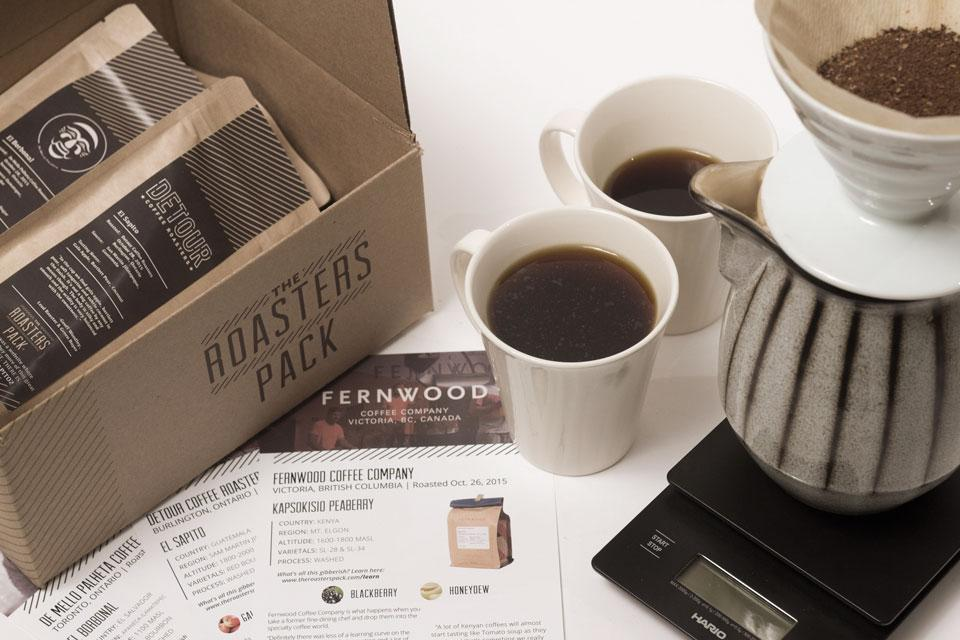 The Roasters Pack: Starting at $26.95