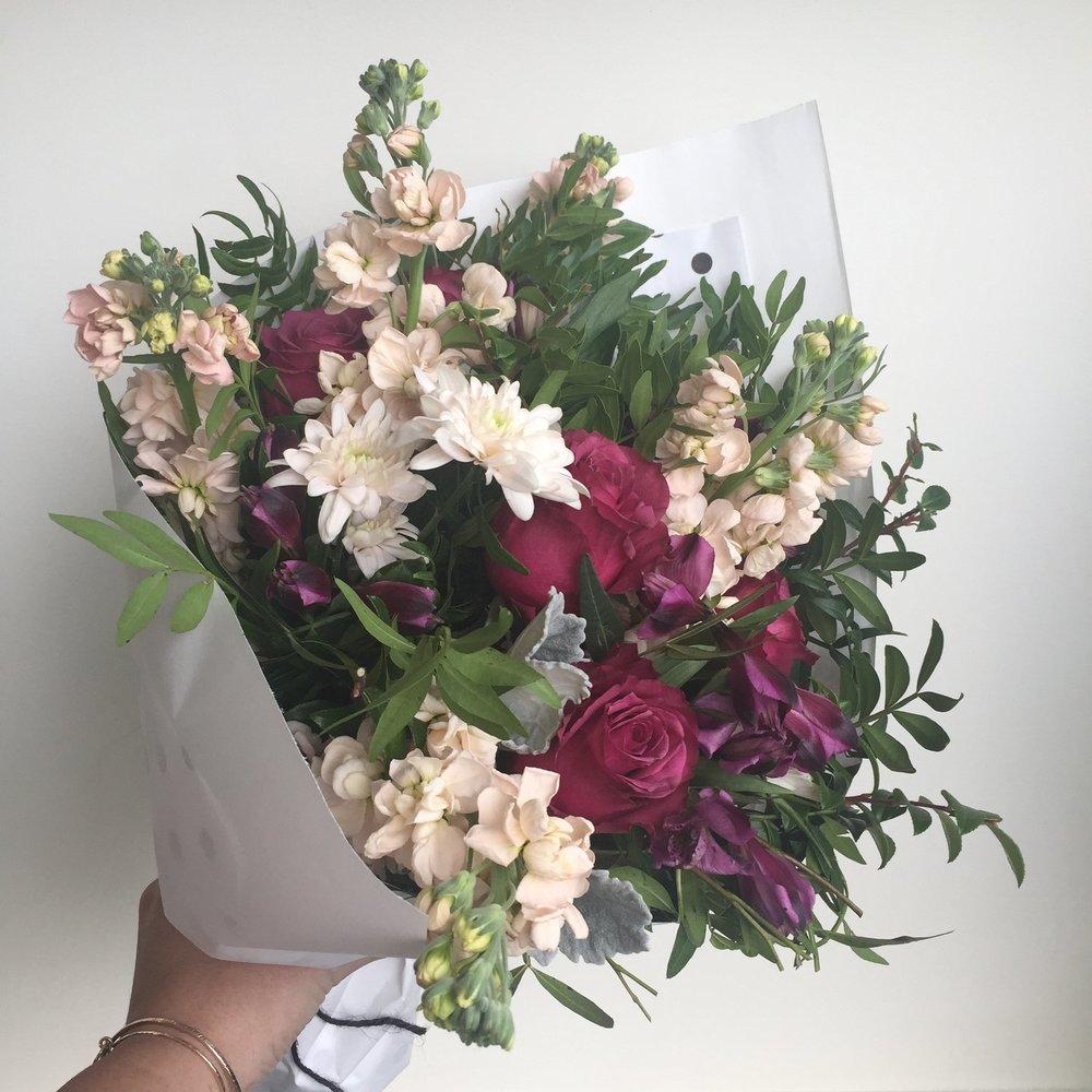 Barb: Flowers!