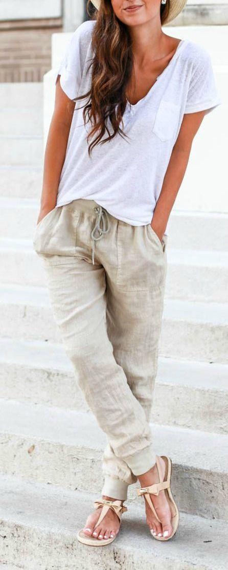 Paula: Linen Pants