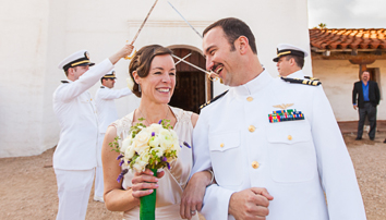 santa barbara wedding, waller weddings