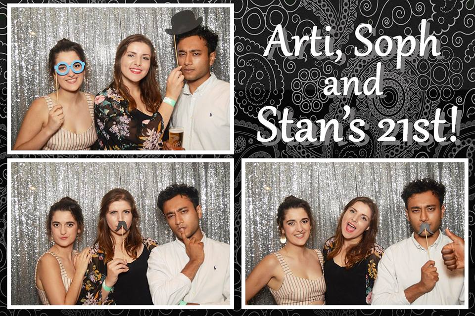 Arti, Soph and Stan's 21st -