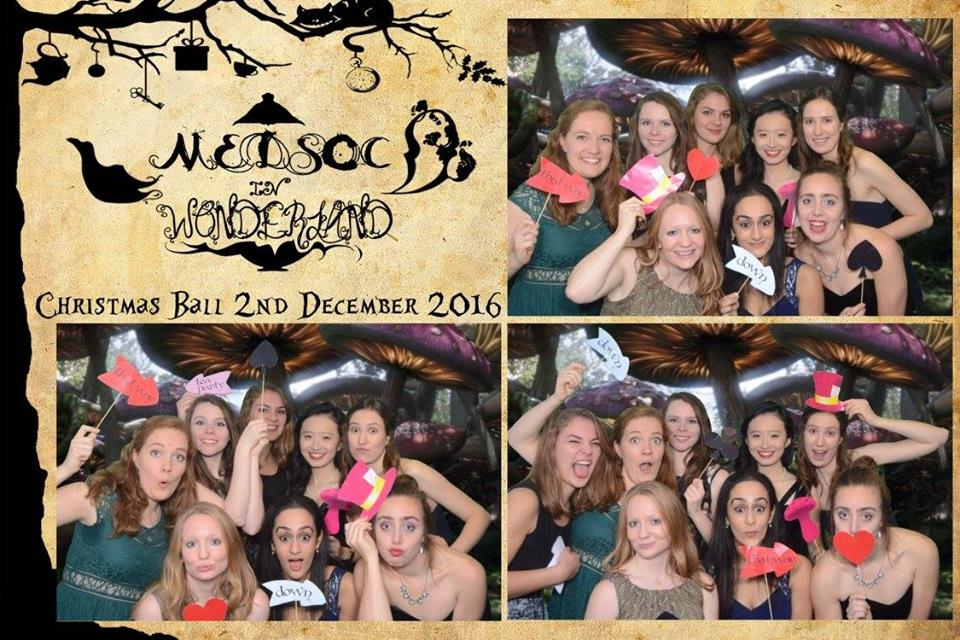 Medsoc In Wonderland - December 2016