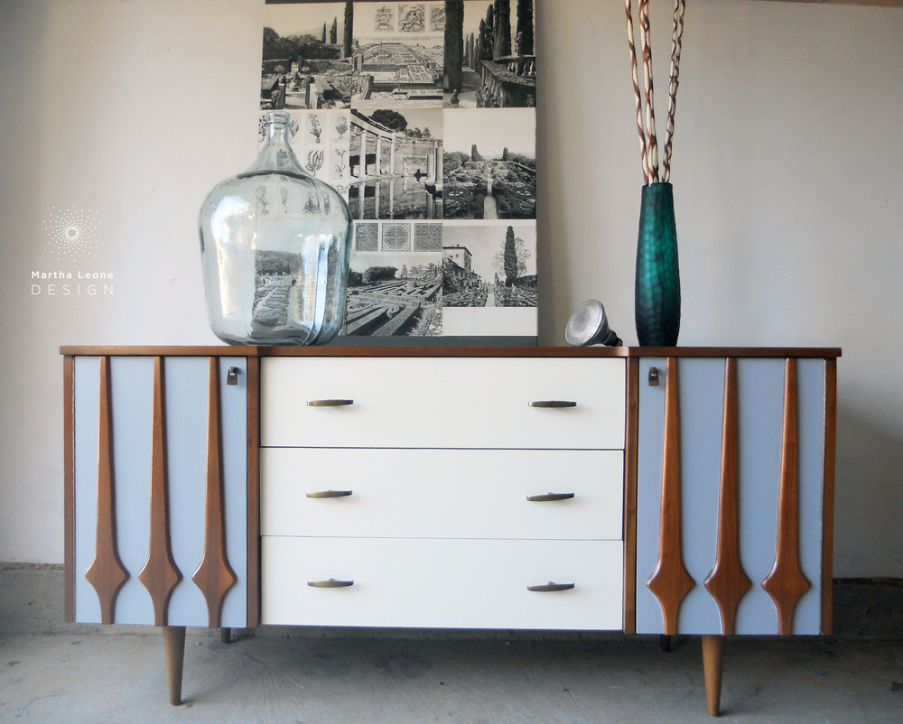 Gray-Cream2 Dresser by Martha Leone Design