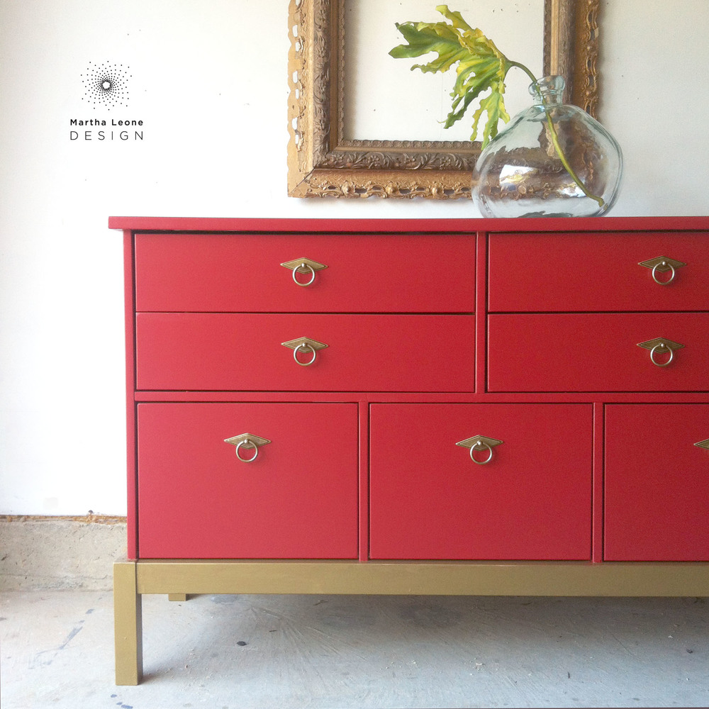 This dresser was ordered by a local customer who has purchased several of  my pieces  She brought the dresser to me    I think this is an IKEA dresser. Highlights of November s Work   Martha Leone Design