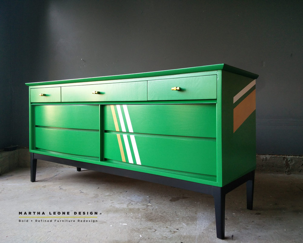 Custom dresser for    Taylor and Hov's    design studio