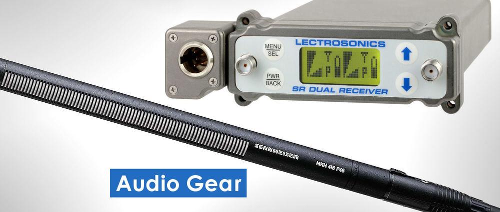 Coyote Grip & Lighting - Audio Gear