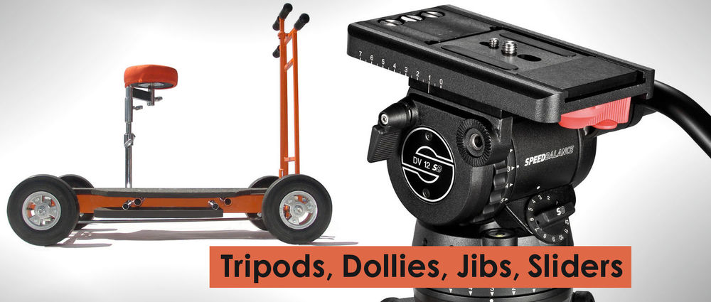Coyote Grip & Lighting -  Tripods, Dollies, Jibs, Sliders