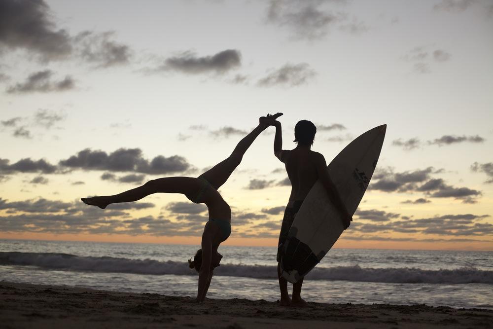 Surf and Yoga- No Rush