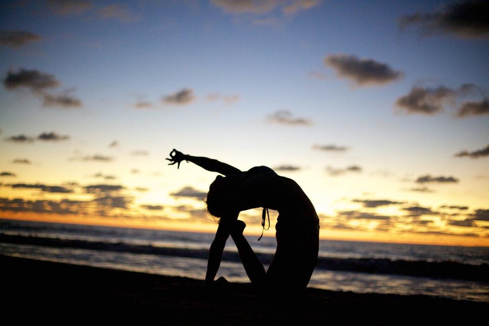 Private Beach Yoga
