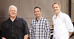 Craig Hartmann, Randy Hartmann and Marcus Hartmann of Pacificpro