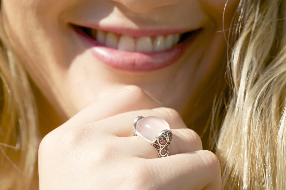 John HardeyKali Silver Pebble Ring