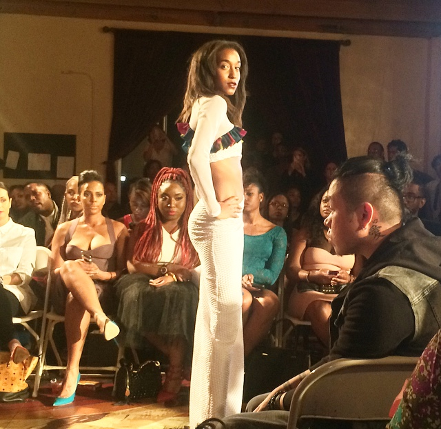 Lian Threds' Collection; Nickii Jean Magazine Circus Couture Fashion Show LAFW