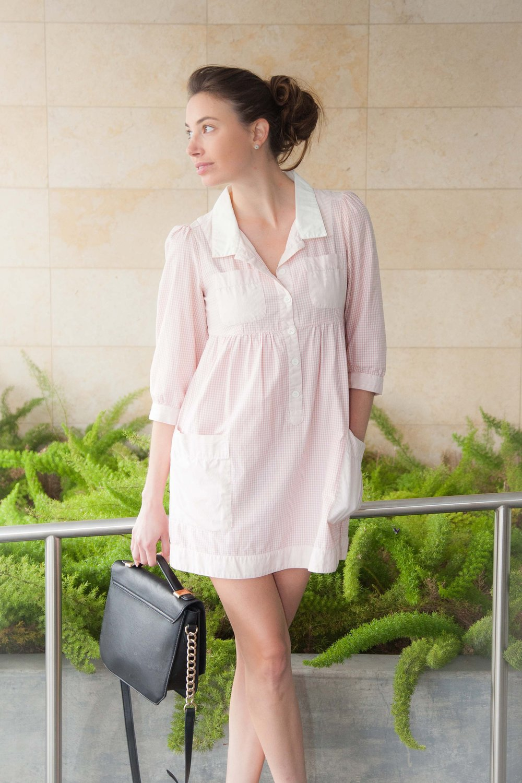 Similar Pink Dress; Waco Purse by SCENE
