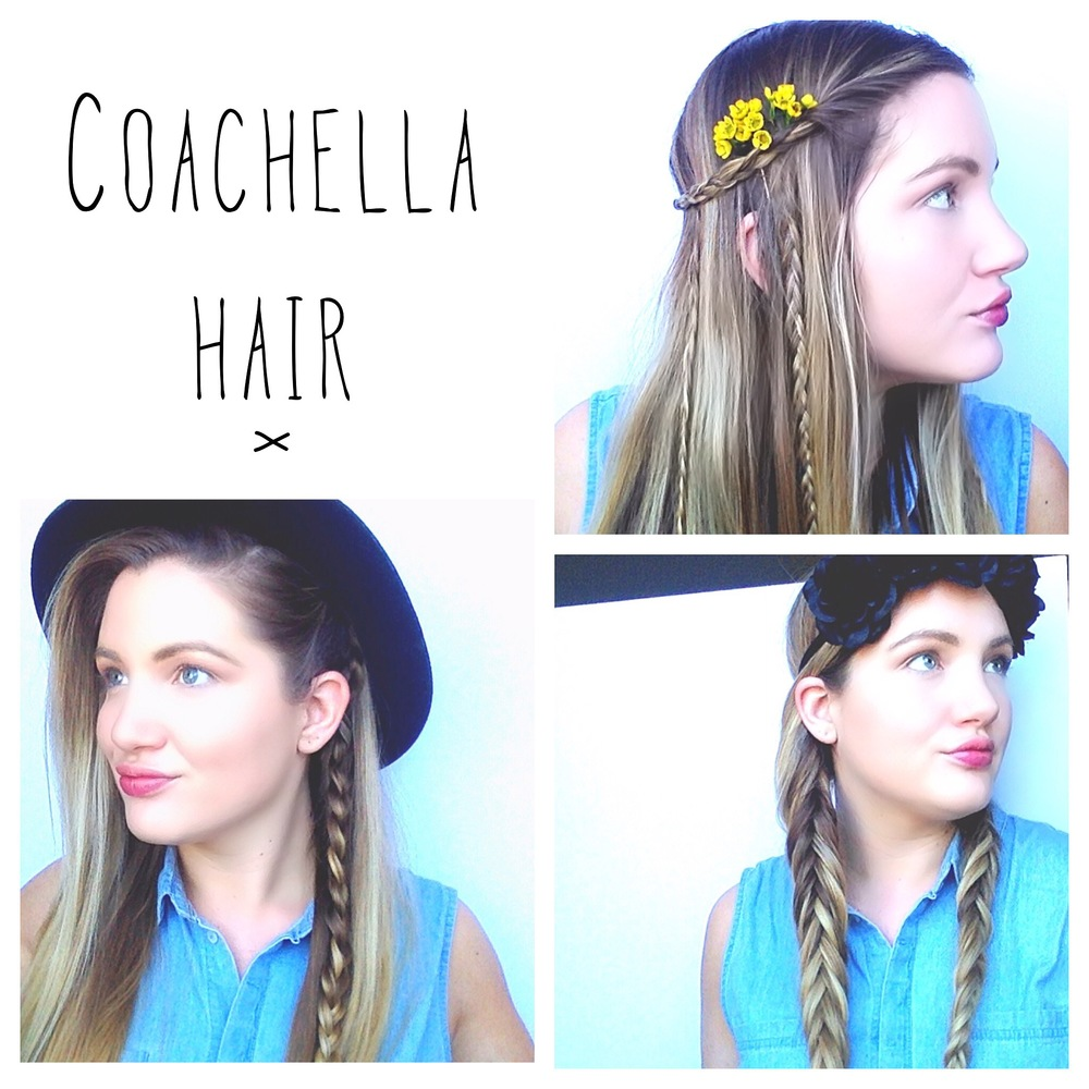 Aslo Check out some Coachella hair inspo