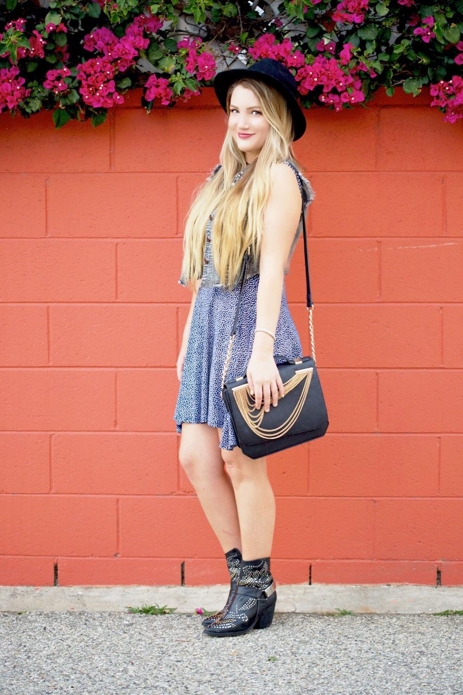By Corpus Cut-Out Summer Dress