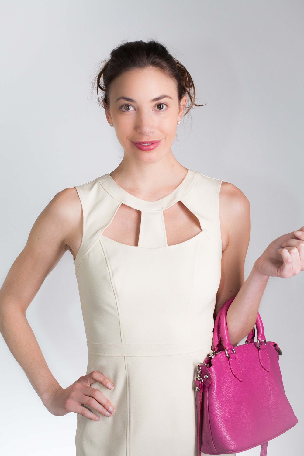 cut-out cocktail dress byMaria Bianca Nero