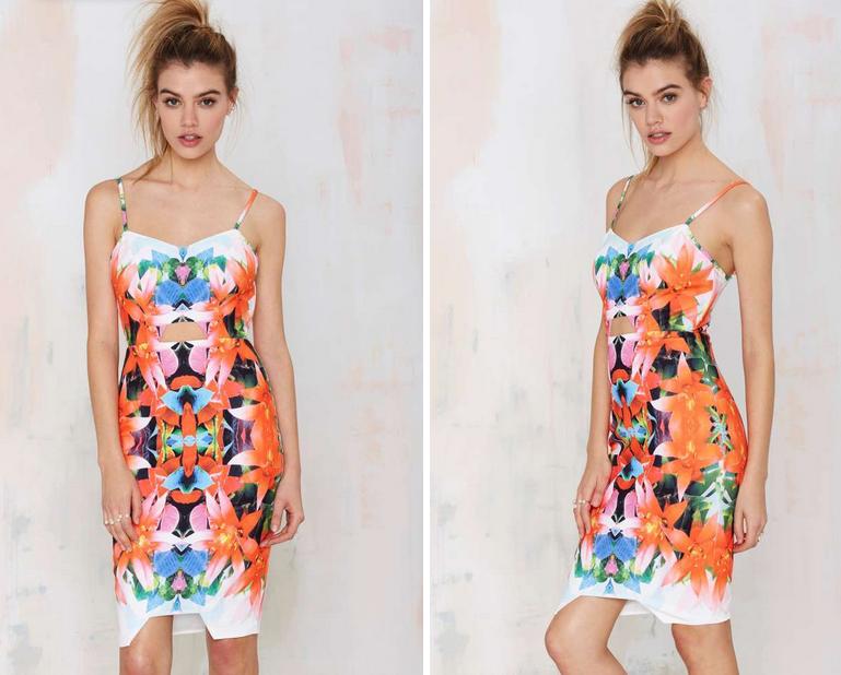 Tiger Mist Tropicana Cutout Dress$118.00 on Nastygal.com