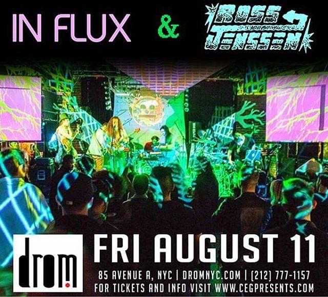 #NYC tonight w/ In Flux