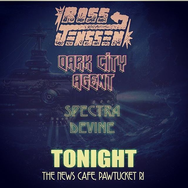 Truckin back down to Rhode Island to rock with @darkcityagent and @spectradivine tonight. #heavyfuturegroove