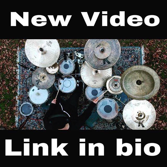 "The new #drum play through from @julesjenssen of ""The Holy Mackerel"" is up!  Check the link in the bio to 👀👂🏼. . . 🎥- @jakebordenphoto, @gocohen, @housatonicstudio . . ✂️🎞- @peter_dufault . . . #heavyfuturegroove #drums #heavy #progressive #mathmetal #originalmusic #rossjenssen #dji #mavicpro #dronestagram #zildjian #vicfirth #remo #yamahadrums"