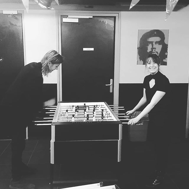 Standup '69 vs Make Out Molly @ De Schuit, Katwijk tonight!  #backstage #chillings #liveshow #bandlife #table #football #tablefootball #soccer #loser #losersquad #needmorebeer #sports #olympics #rocknroll #justpassingtime #cheguevara