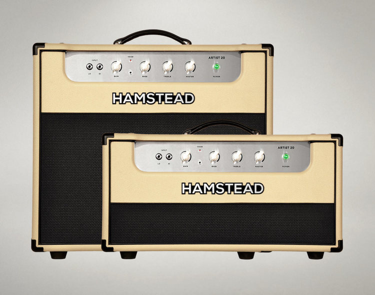 Artist 20 Combo and Artist 20 Head amplifiers