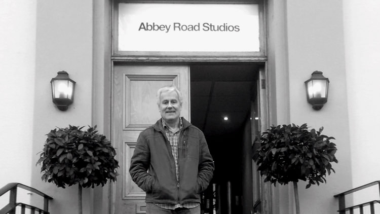 Peter Hamstead at Abbey Road Studios