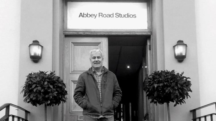 Peter Hamstead at Abbey Road Studios