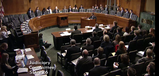 SA Richard Kiper and former SA Michael German testify before the Senate Judiciary Committee