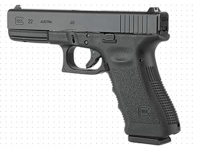 Glock 22  ( photo credit Glock.com)