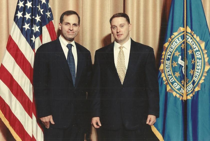 former FBI Agent Ken Hillman and former FBI Director Louis Freeh
