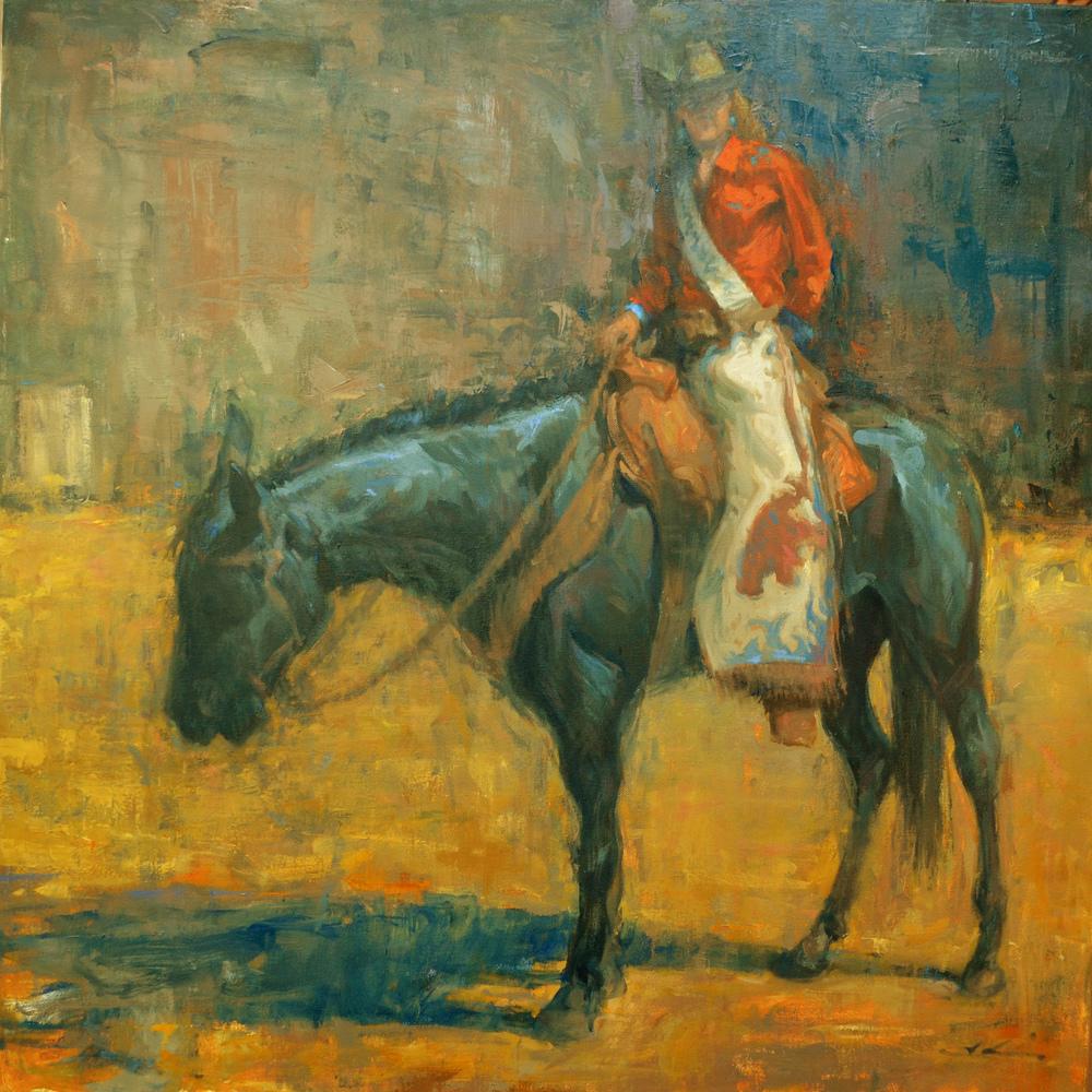 Portrait of a Rodeo Queen