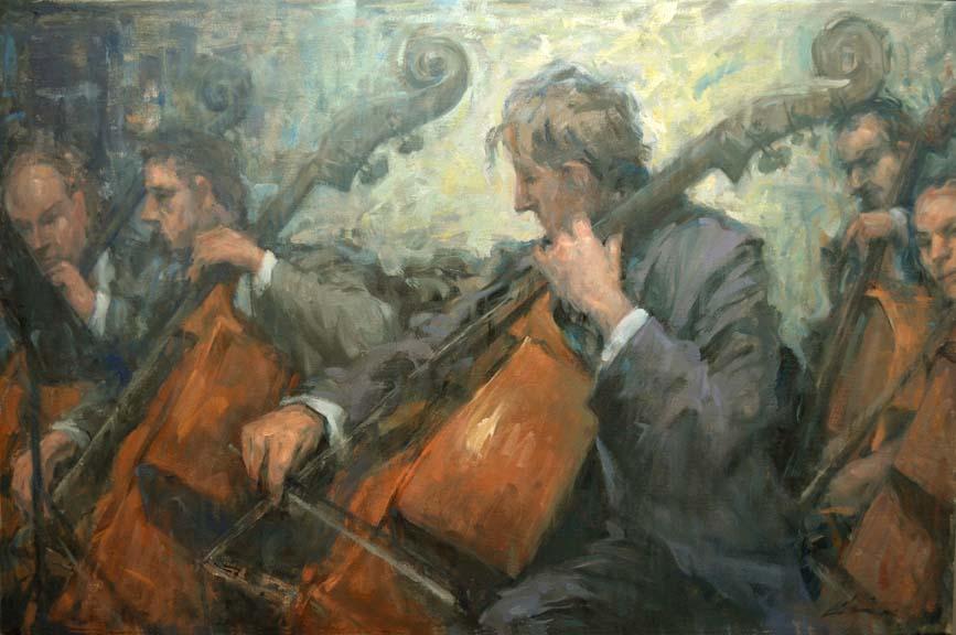 Cello Harmonies
