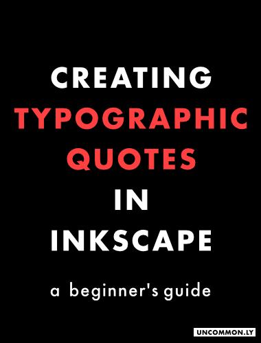 typographicquotetutorialgraphic